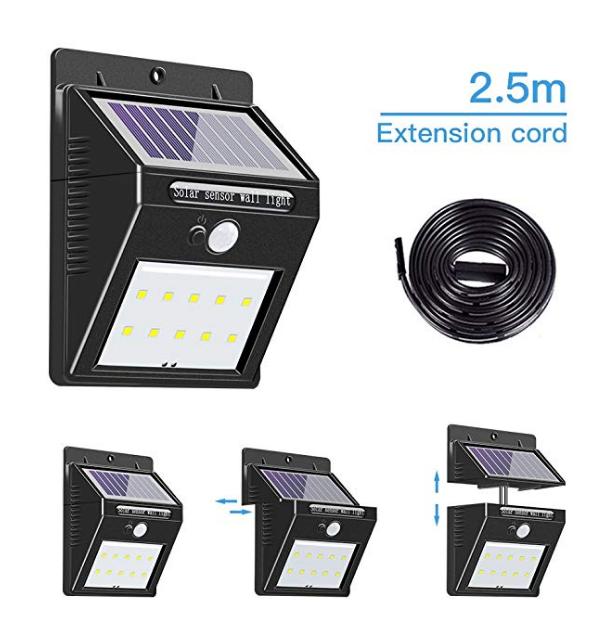solar sensor wall lightB